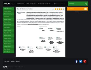 ben10omniversesaldiri.oyunu.net screenshot