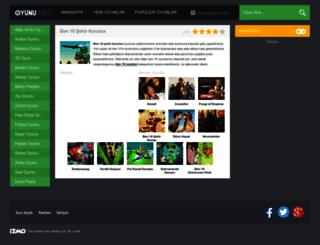 ben10sehirkoruma.oyunu.net screenshot