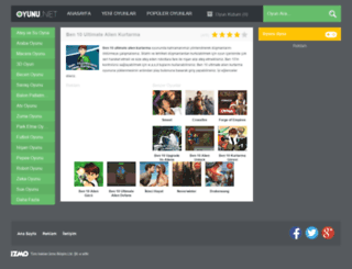 ben10ultimatealienkurtarma.oyunu.net screenshot