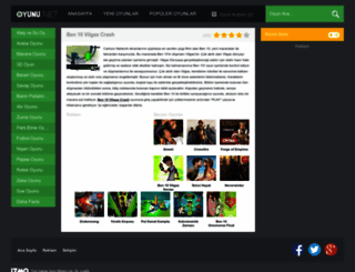 ben10vilgaxcrash.oyunu.net screenshot