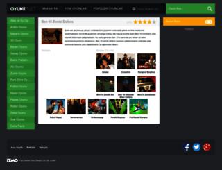 ben10zombidefans.oyunu.net screenshot