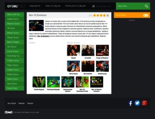 ben10zombozo.oyunu.net screenshot