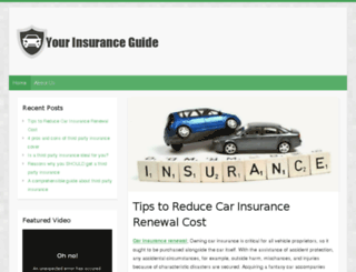 benaglioinsurance.com screenshot