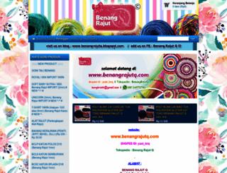 benangrajutq.com screenshot