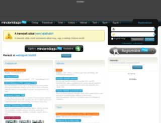 bencemusic.mlap.hu screenshot
