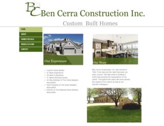 bencerra.com screenshot