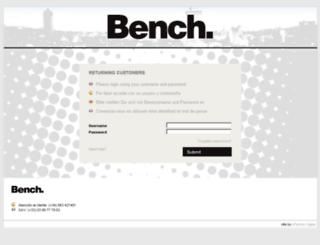 bench-b2b.com screenshot