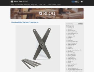 benchcrafted.blogspot.com screenshot