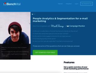 benchmail.co screenshot