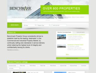 benchmarkprop.co.za screenshot