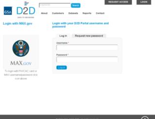benchmarks.gsa.gov screenshot