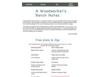benchnotes.com screenshot
