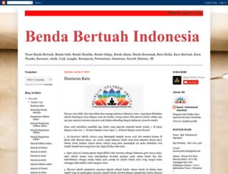 bendabertuahindonesia.blogspot.com screenshot