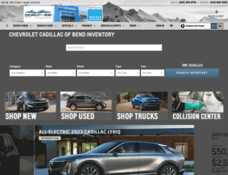 bendchevrolet.com screenshot