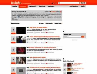 bendecho.com screenshot