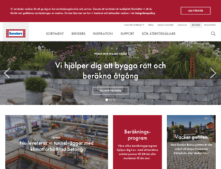benders.se screenshot
