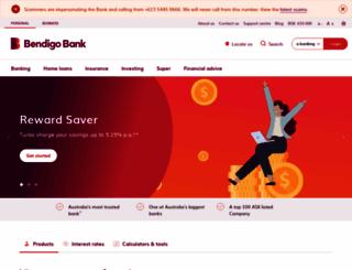 bendigobank.com.au screenshot