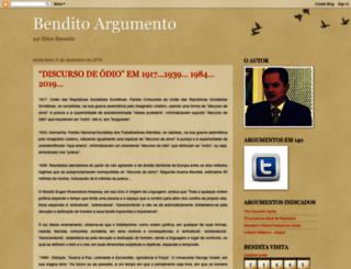 benditoargumento.blogspot.com screenshot