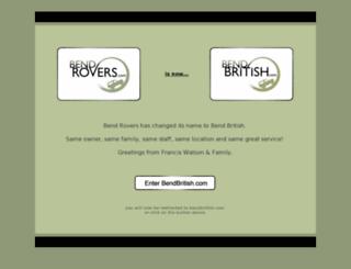 bendrovers.com screenshot