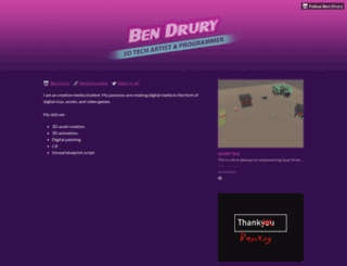bendrury.itch.io screenshot