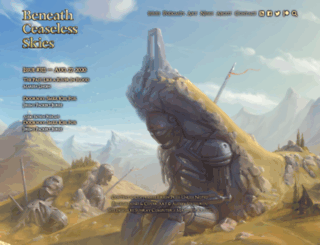 beneath-ceaseless-skies.com screenshot
