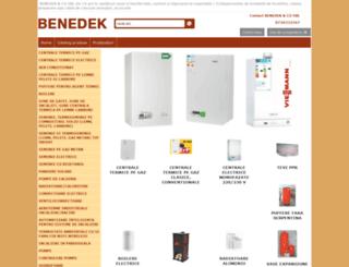 benedekco.com screenshot