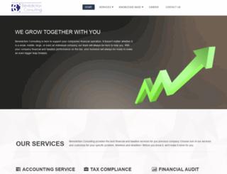 benediction-consulting.com screenshot