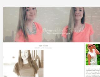 benediktehelen.blogg.no screenshot