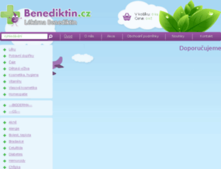 benediktin.cz screenshot