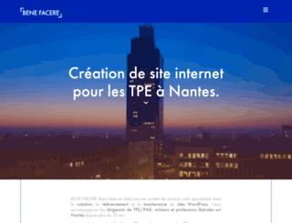 benefacere.fr screenshot