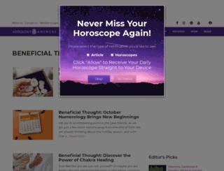 beneficial.astrologyanswers.com screenshot