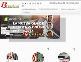 beneficionline.com-bon.tv screenshot