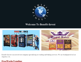 benefit-invest.com screenshot