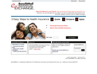 benefitmall.inshealth.com screenshot