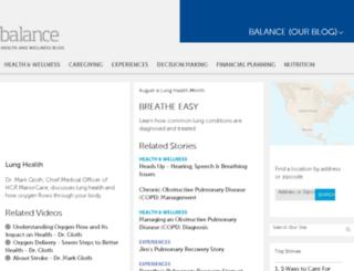 benefits.hcr.manorcare.com screenshot