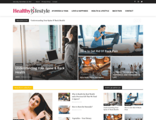 benefitshealthylifestyle.com screenshot