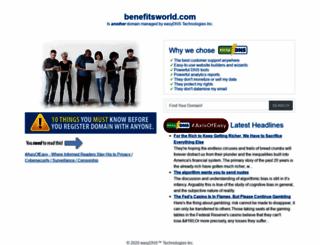 benefitsworld.com screenshot
