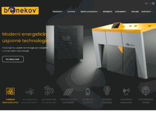 benekov.cz screenshot