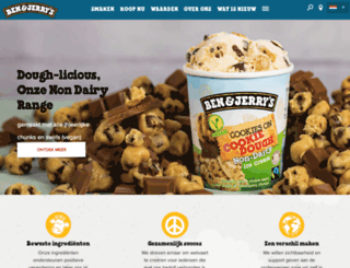 benenjerry.nl screenshot