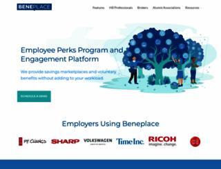 beneplace.com screenshot