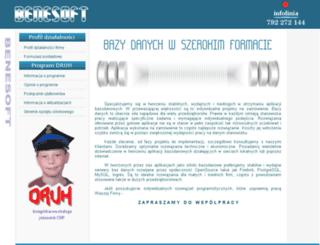 benesoft.pl screenshot