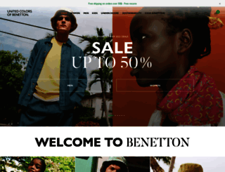 benetton.com screenshot