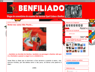 benfiliado.blogspot.pt screenshot