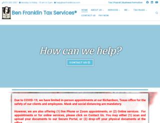 benfranklintax.com screenshot