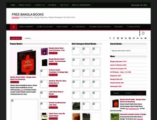 bengalibookspdf.blogspot.com screenshot