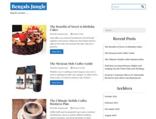bengalsjungle.com screenshot