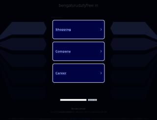 bengalurudutyfree.in screenshot