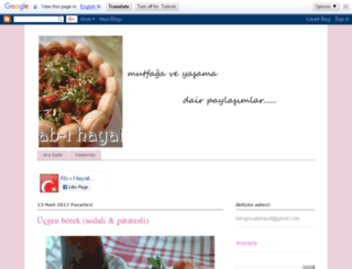 bengisu-abihayat.blogspot.com screenshot