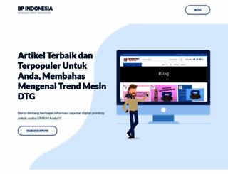 bengkelprint.com screenshot