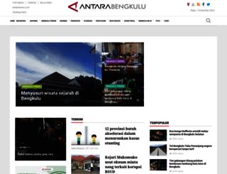 bengkulu.antaranews.com screenshot